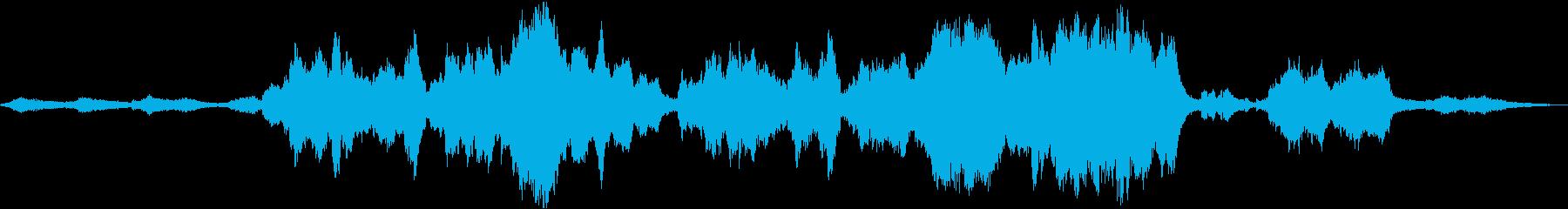 祈り、波間に漂う神秘的なソプラノの再生済みの波形