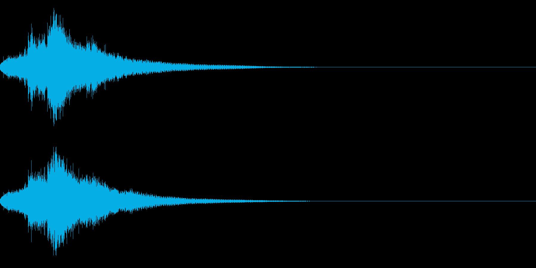 キラキラ キラーン☆魔法等の輝きに!01の再生済みの波形