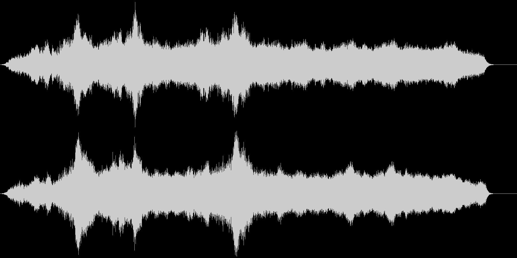 安定した低サブベル、低サブのロングベルの未再生の波形
