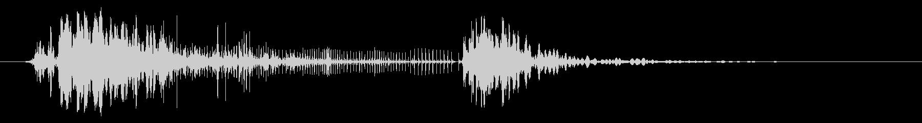 ハードウッドの衝撃とスプリンター、...の未再生の波形