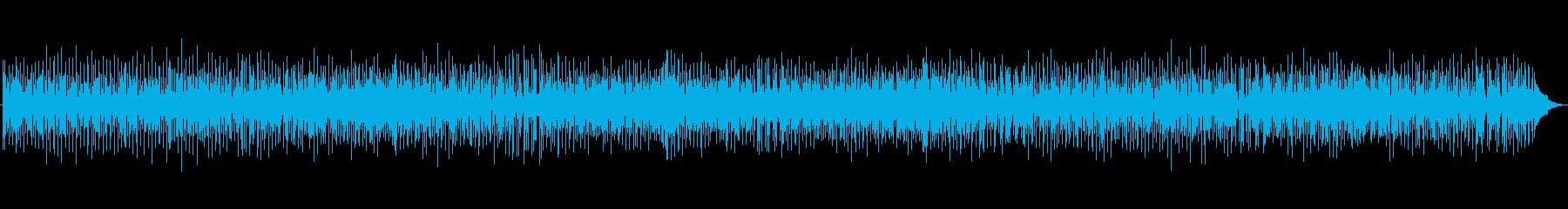 軽快なブルーグラスの再生済みの波形