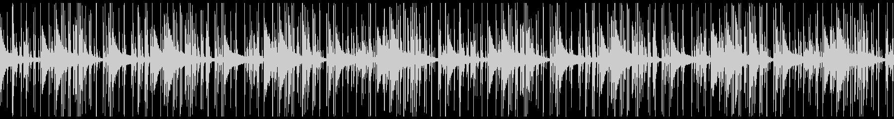 Lo-Fiビート_レトロなピアノループの未再生の波形