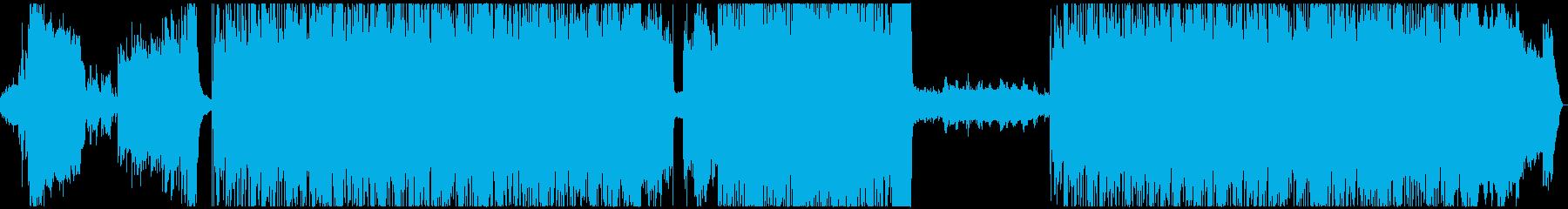 レトロ90年代風ゲーム音楽_冒険・RPGの再生済みの波形