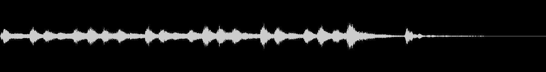 ピッツィカートによる不気味なジングル2の未再生の波形