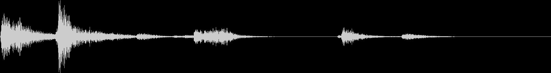 【生録音】装備品の音 金属 武器 10の未再生の波形