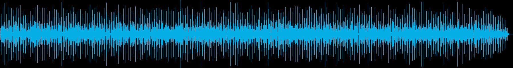 オシャレで可愛いコミカルリズムの再生済みの波形