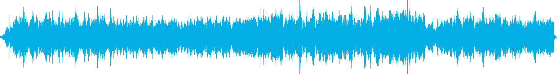 ハリウッドのパニック映画系の緊迫した曲の再生済みの波形