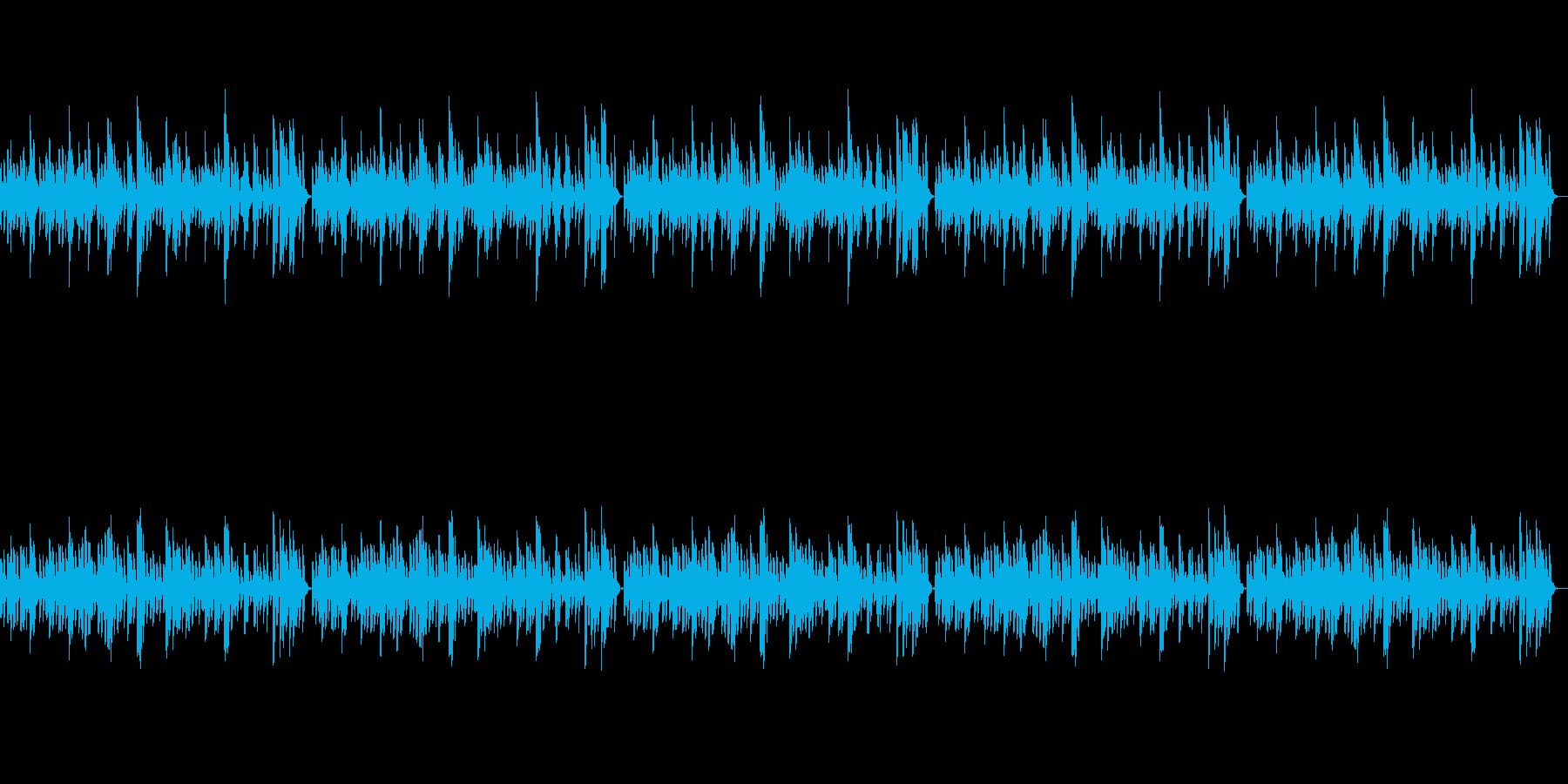 可愛くてポップな鉄琴のシンプルなBGMの再生済みの波形
