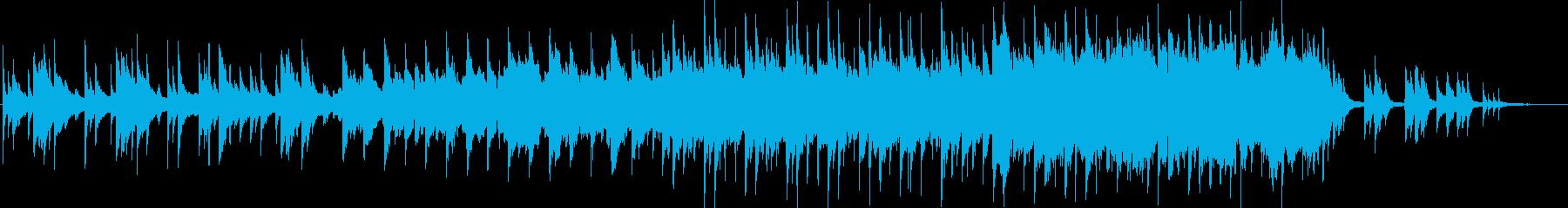 琴と尺八によるしっとりとした和風バラードの再生済みの波形