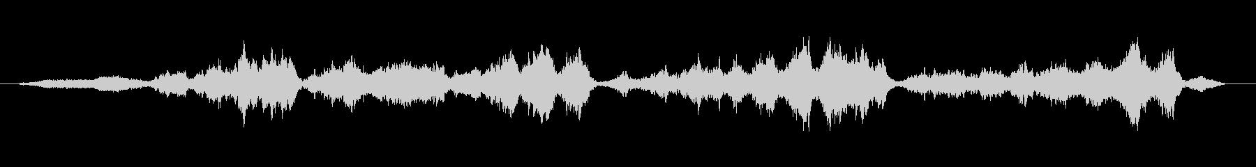 Deep Blue KURAGEアンビ版の未再生の波形