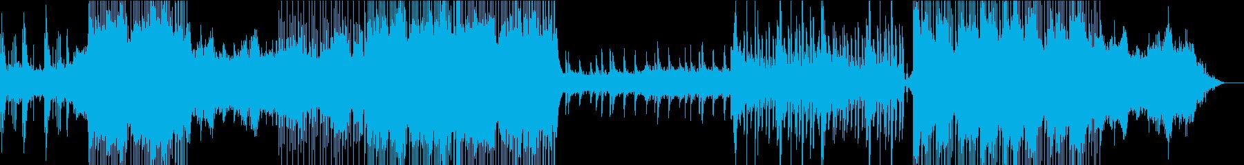 切ないメロディーを奏でるピアノストリングの再生済みの波形
