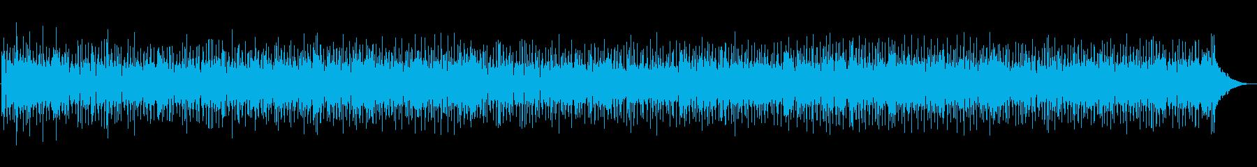 海や青空の情景が浮かぶピアノインストの再生済みの波形