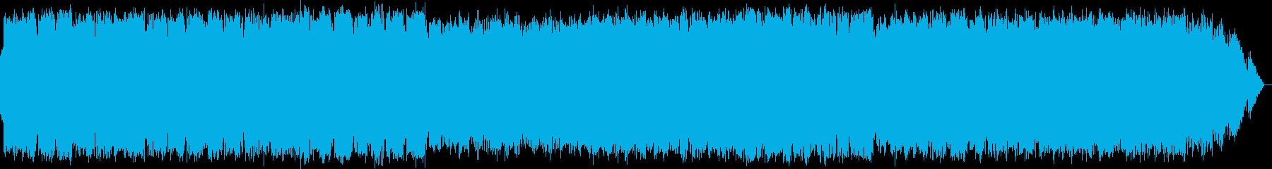 のどかで爽やかな竹笛のヒーリング音楽の再生済みの波形
