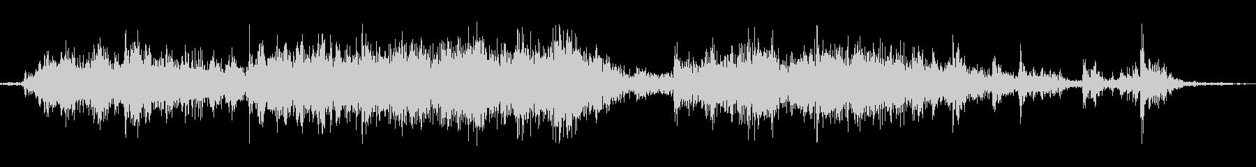 ガラガラ(くじ引きの音の未再生の波形