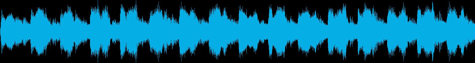 コミカルな子供っぽいジングル(ループ)の再生済みの波形
