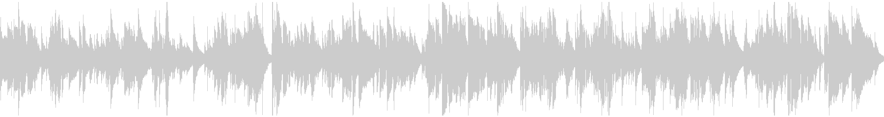 まったり雰囲気のジャズバラード※ループ版の未再生の波形