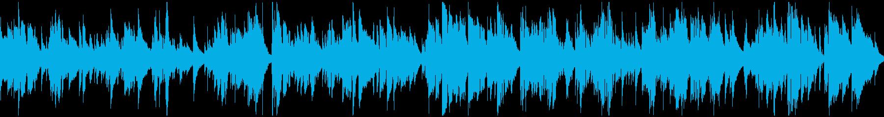 まったり雰囲気のジャズバラード※ループ版の再生済みの波形