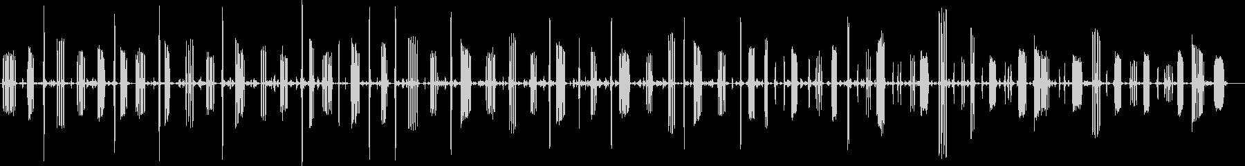 チャット、イエローブレストチャープ...の未再生の波形