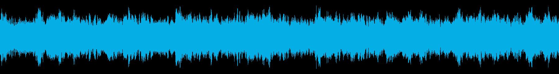 ホラー謎解き不可解静か・ループシンセの再生済みの波形