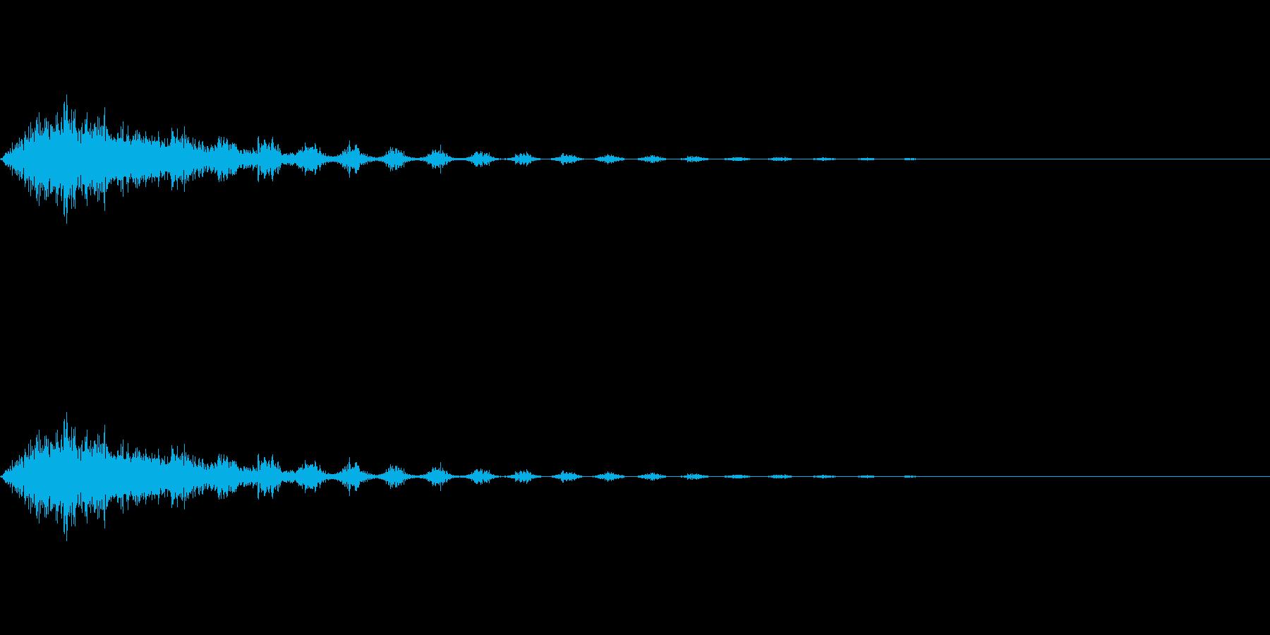 ダッシュ/移動/逃げる/コミカルの再生済みの波形