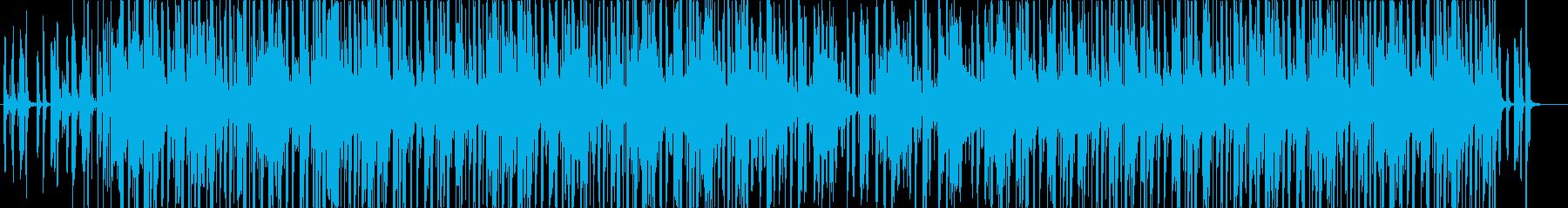 おしゃれでクールなポストロックの再生済みの波形