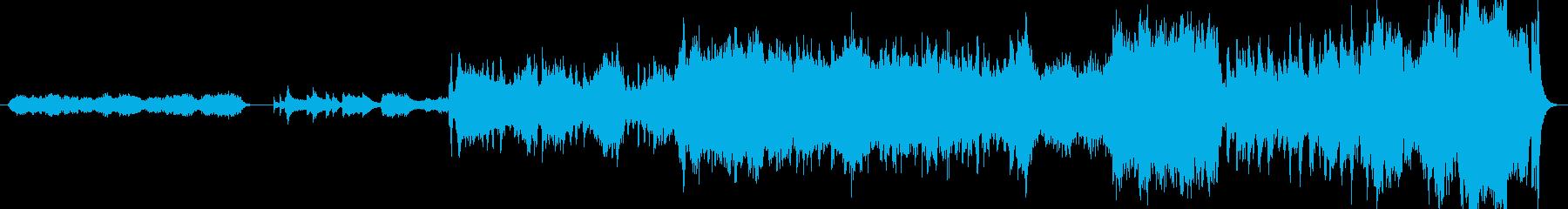 海へ大冒険感動のフィナーレ編オーケストラの再生済みの波形