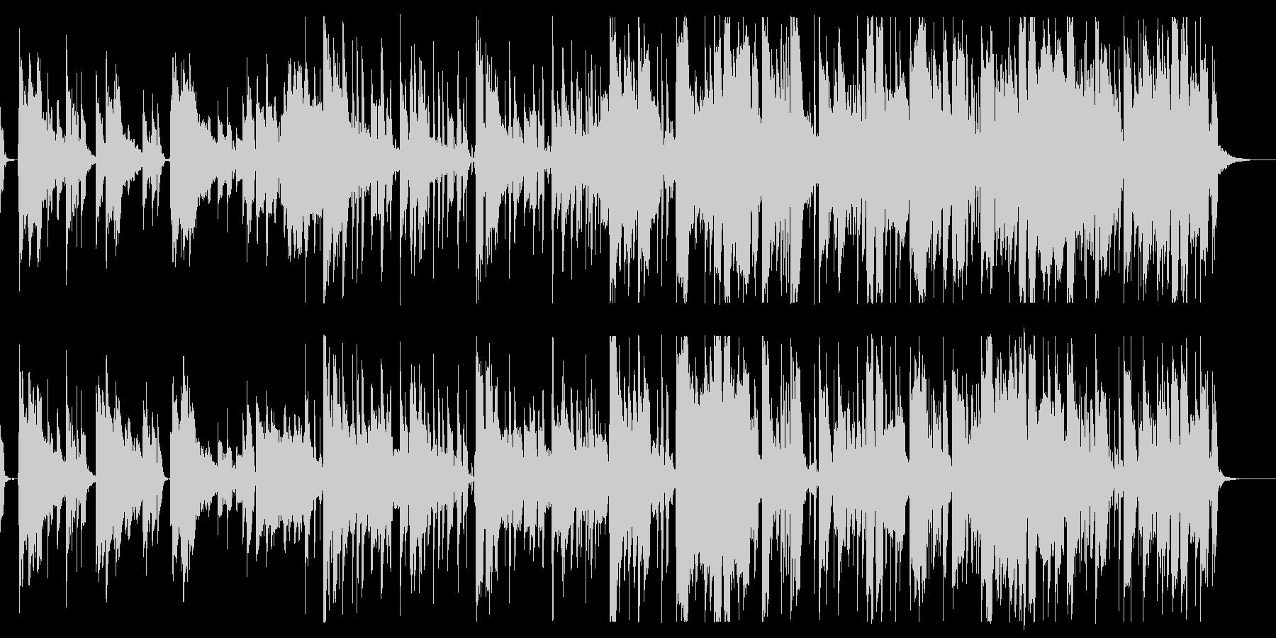 トニカクカワイイの未再生の波形