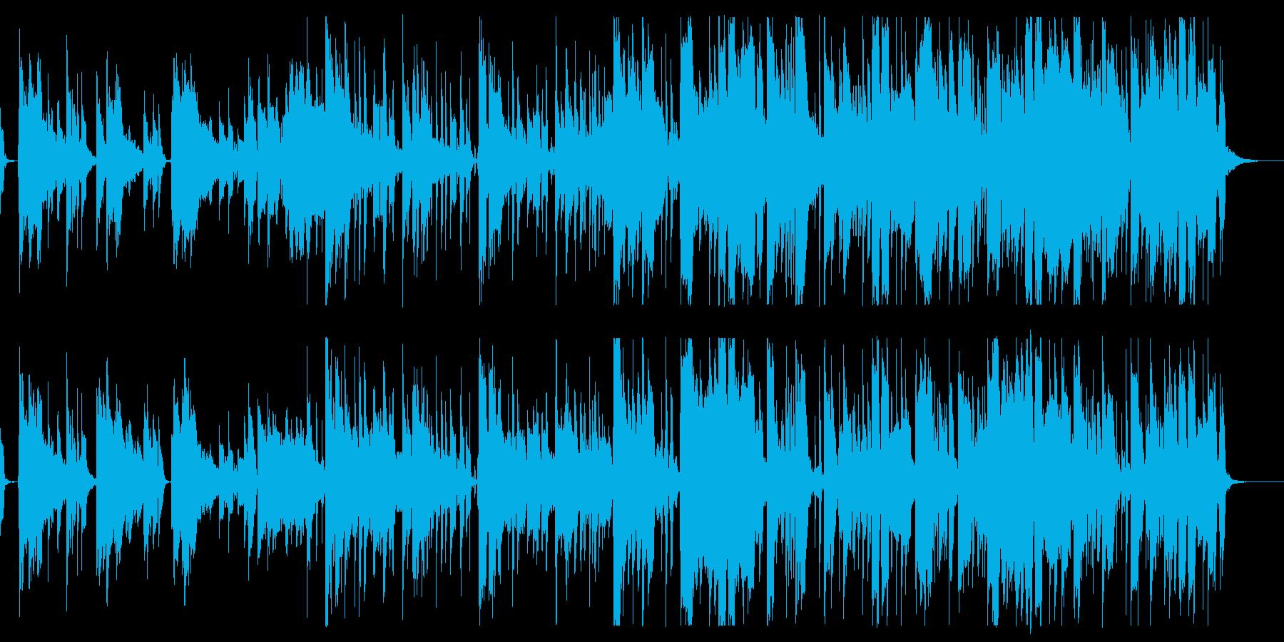 トニカクカワイイの再生済みの波形