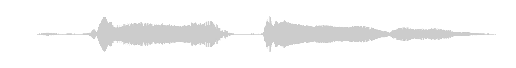 鳴き声 興奮女性02 W湖の未再生の波形