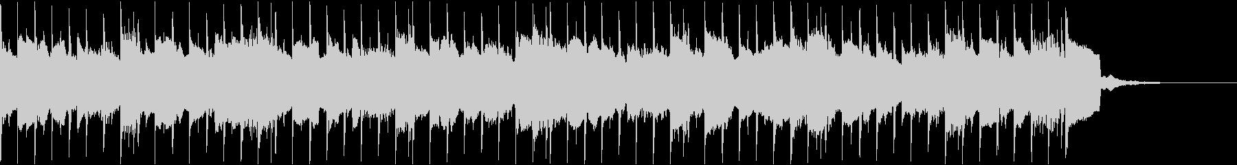 告知やCMなどに使えるポップなシンセの曲の未再生の波形