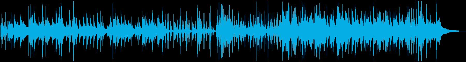 繊細で緩やかなピアノジャズの再生済みの波形