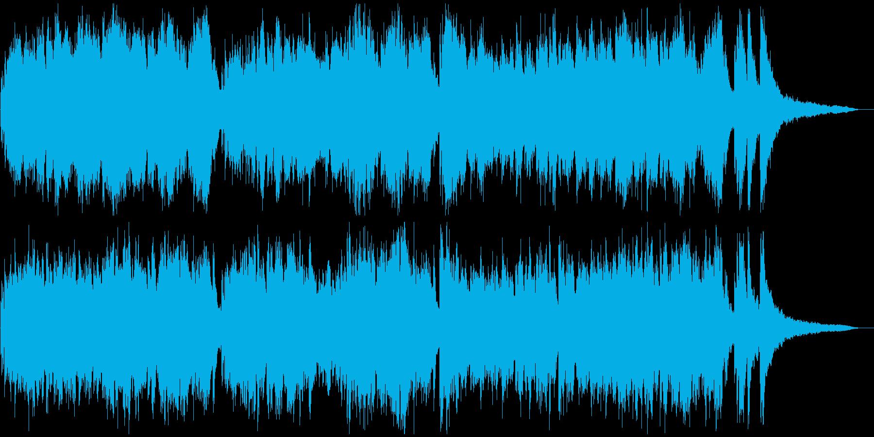 ★★現代音楽風タイムラプス用ピアノ★3分の再生済みの波形