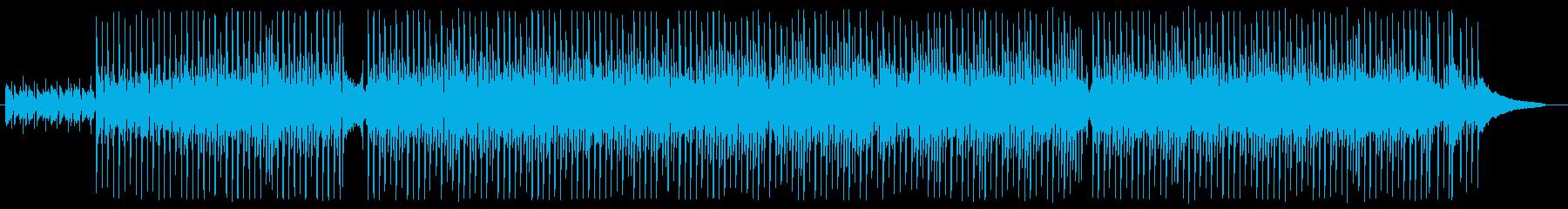 企業PVや動画BGMなど、ピアノインストの再生済みの波形