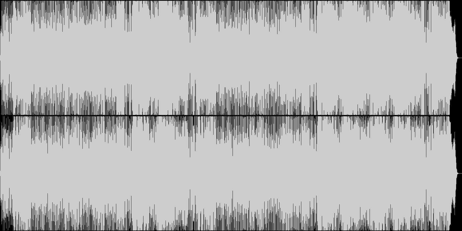 モータウンビートKick Ass Braの未再生の波形