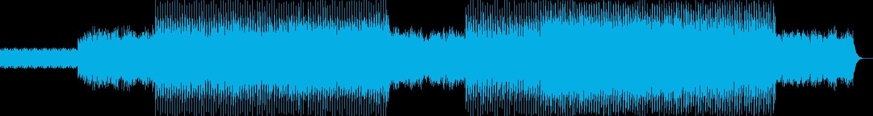 ニュース映像ナレーションバック向け-05の再生済みの波形