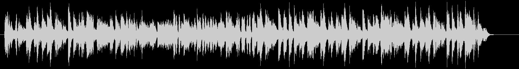 ブロッコリーをテーマにした楽曲の未再生の波形
