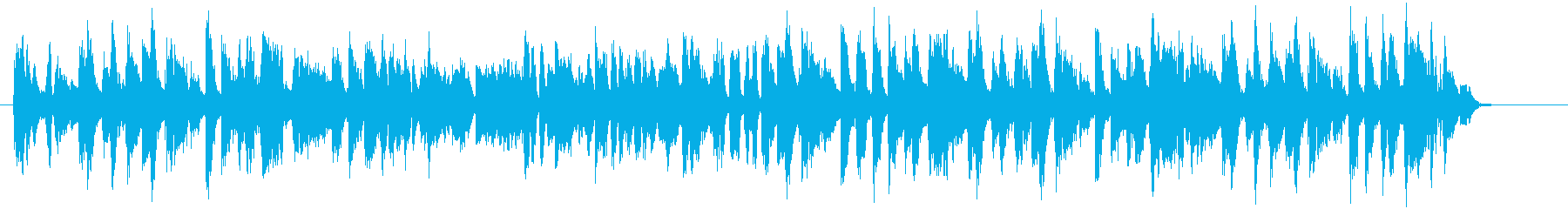 ブロッコリーをテーマにした楽曲の再生済みの波形