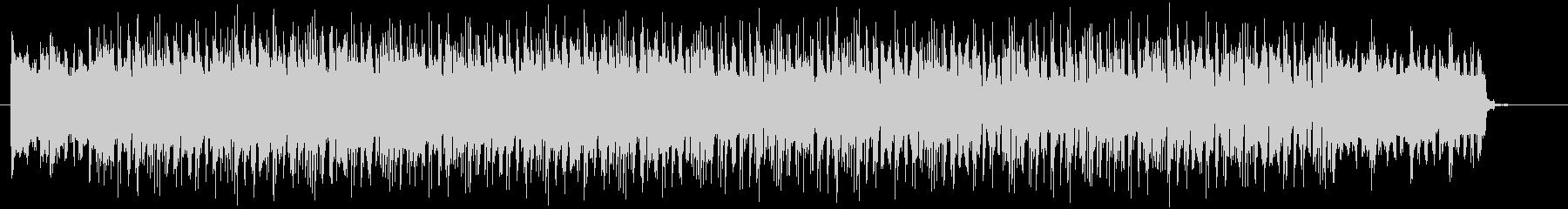 重みのあるオープニング曲の未再生の波形