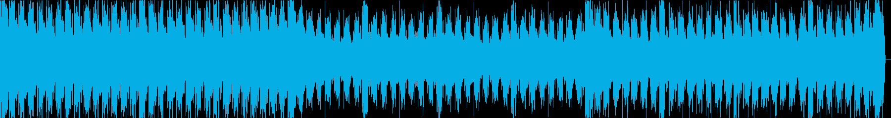 緊迫、緊張、暗く疾走感戦闘バトルループcの再生済みの波形