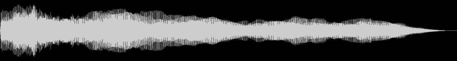 ディープエンベロープドローンの未再生の波形