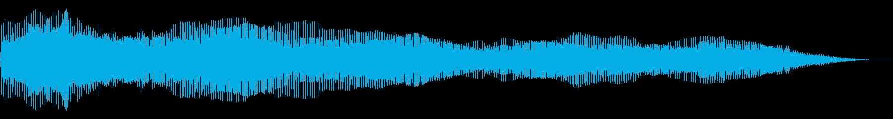 ディープエンベロープドローンの再生済みの波形