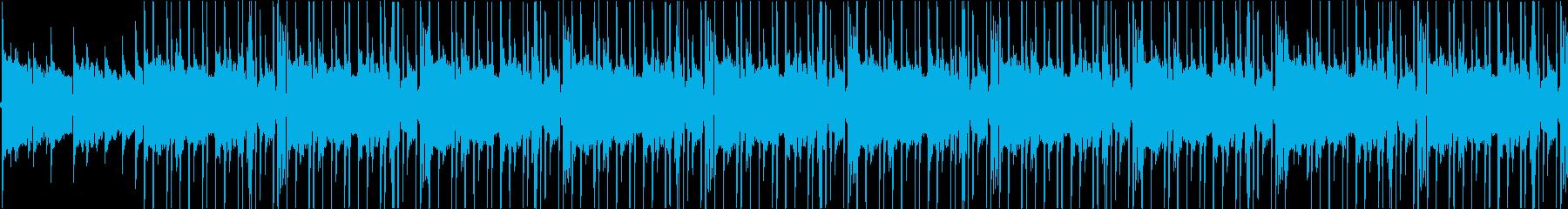 朝/LoFi/チルアウト/ヒップホップの再生済みの波形
