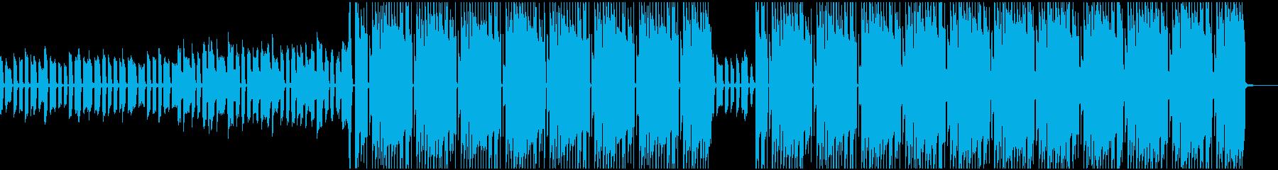 ノリノリのキッチンの再生済みの波形