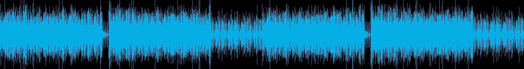 バトル開始 緊張感のあるエレクトロBGMの再生済みの波形