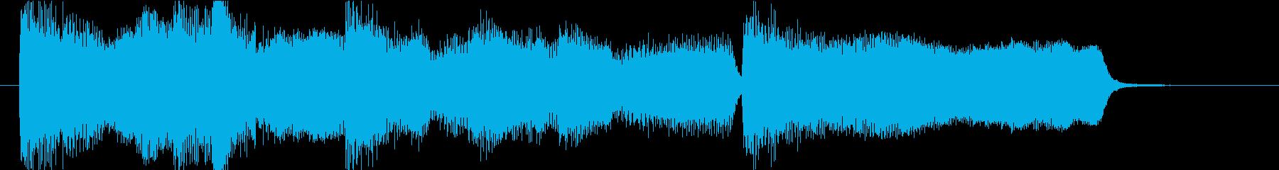 15秒CMの20 安らぎの金管とピアノの再生済みの波形