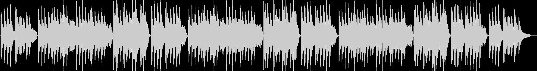 ふるさと(童謡)ピアノ&ストリングスの未再生の波形