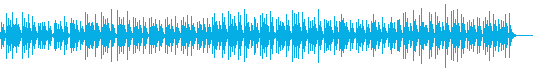 ラテン火山パーカッショングローブ、...の再生済みの波形