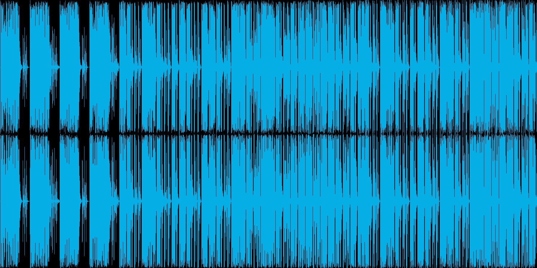 techonoですの再生済みの波形
