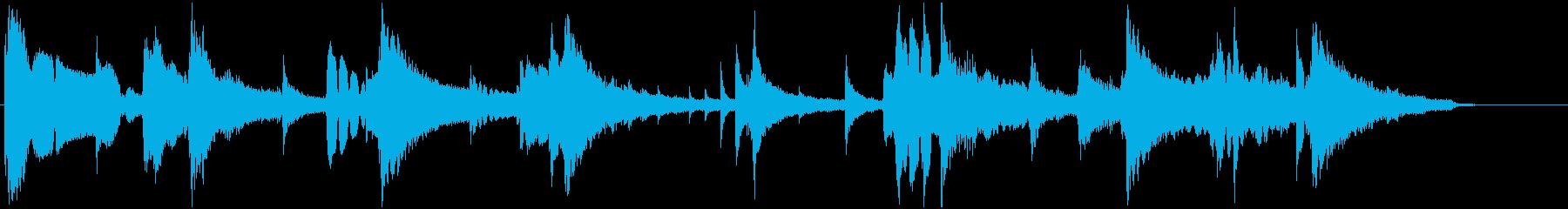 ジングル 秋の気配 ジャズ クラリネットの再生済みの波形