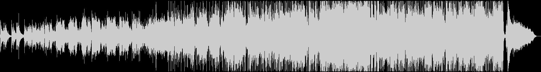 ゴスペルなイントロのミディアムバラードの未再生の波形